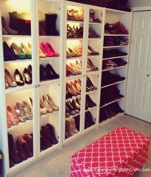 DIY Shoe Room